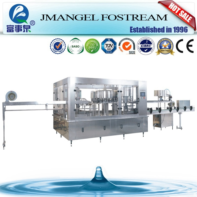 Automatic 3 in 1 Small Production Mineral Water Bottle Filling Line