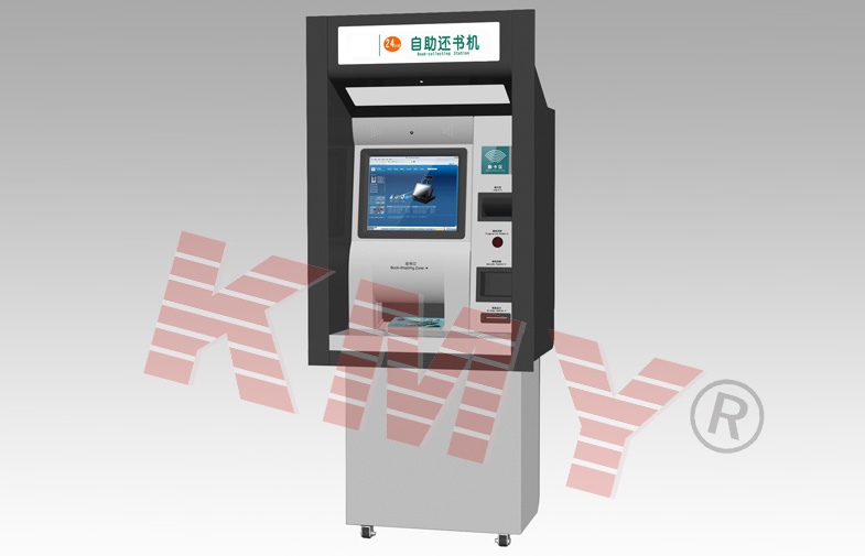 Outdoor Wall Through ATM Kiosk with Touch Screen