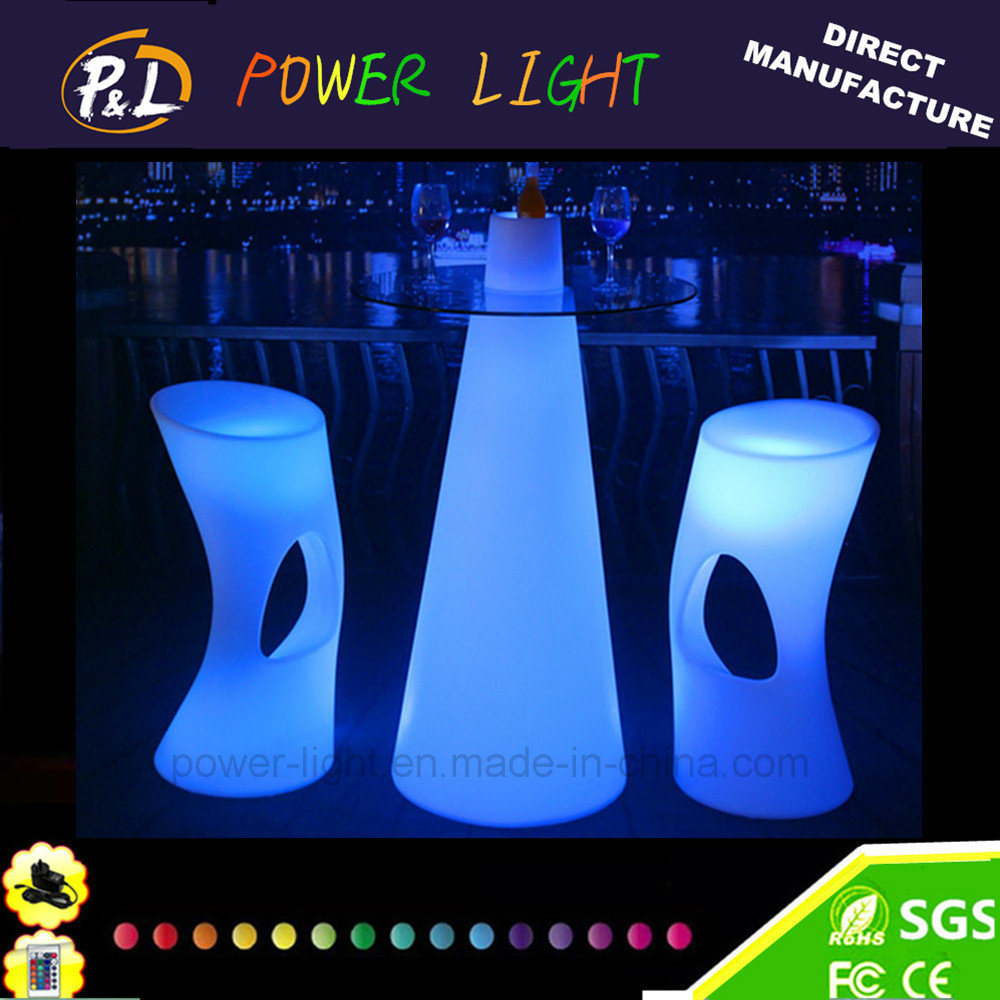 China Bar Furniture LED Illuminated Lighted Bar Table   China LED Bar Table,  LED Lighted Table
