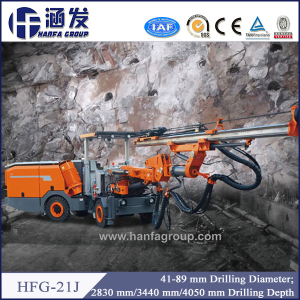 Hfg-21j High Quality Hot Selling Wheel Cheap Jumbo Drilling Rig pictures & photos