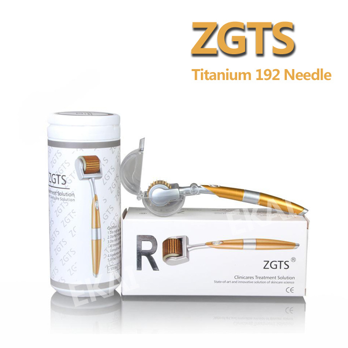 Zgts192 Titanium Seamless Needle Derma Roller for Scar Removal