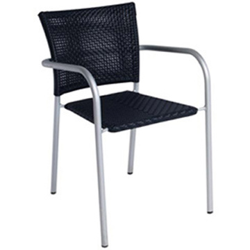 Outdoor Stacking Quality Aluminum Wicker Chairs (RC-06030)