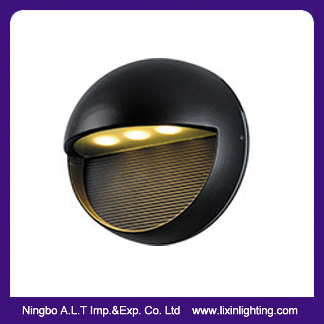 Round IP54 LED Wall Light 3*1W Edison Chip Hotel & Home Decoration