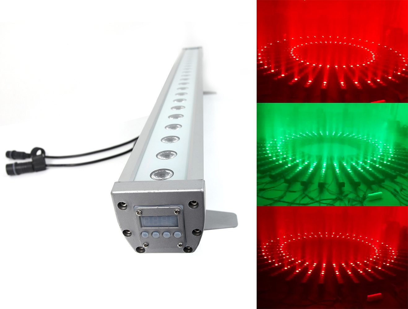 Hot LED Building Wash Light 18*10W RGBW DOT Control DMX Wall Washer LED Waterproof pictures & photos