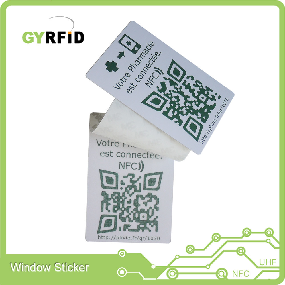 Wsp UHF Windshield Stickers for Vehicle Tracking System (WSP) pictures & photos