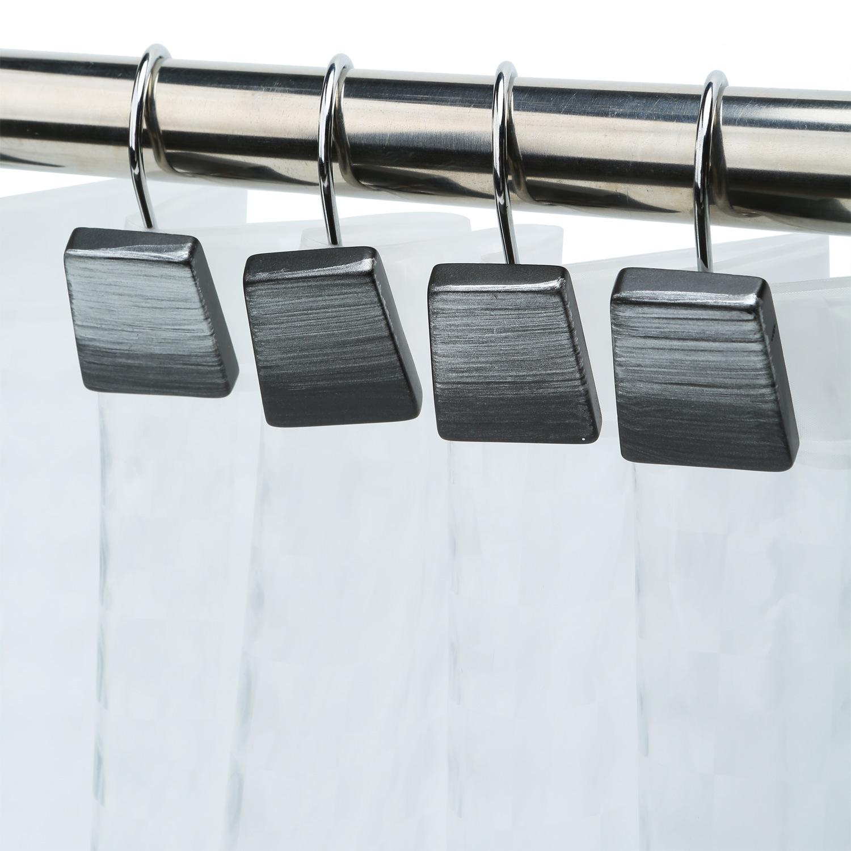 Hot Item Luxury Hotel Shower Curtain Hooks Square Contemporary Design