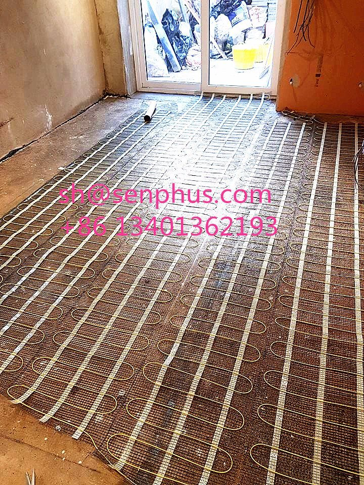 China Tile Floor Heater Ce Vde Roved Heating Mat