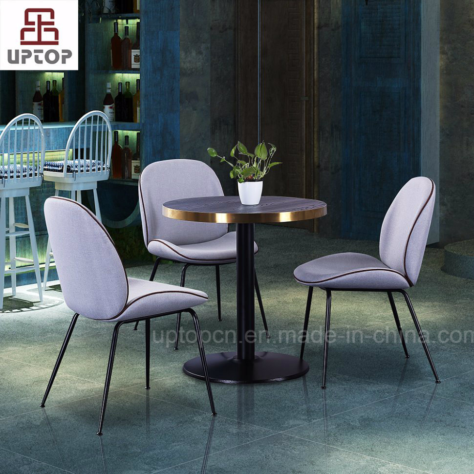 China Commercial Gamfratesi Restaurant Furniture Cafe Chair And - Commercial dining table sets