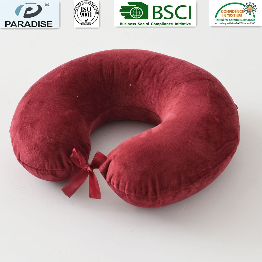 Neck Rest Traditional Memory Foam Pillows U Shape Wholesale Cheap Neck Pillow Car Pillow Travel Pillow pictures & photos