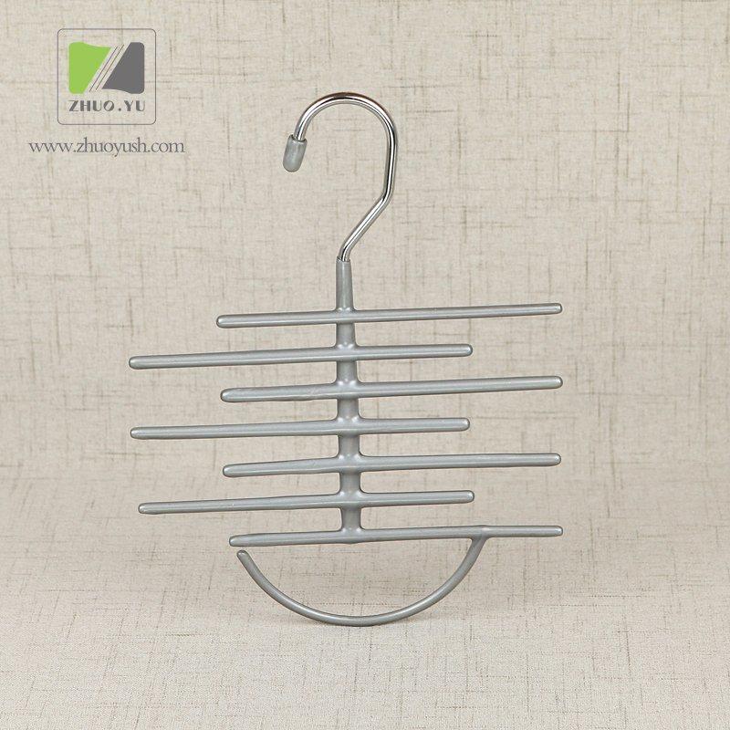 China PVC Coated Metal Wire Towel Rack / Scarf Hanger - China Metal ...