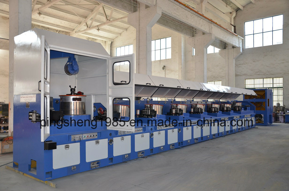 China CO2 Gas Shield Welding Wire Drawing Machine and Copper Coating ...