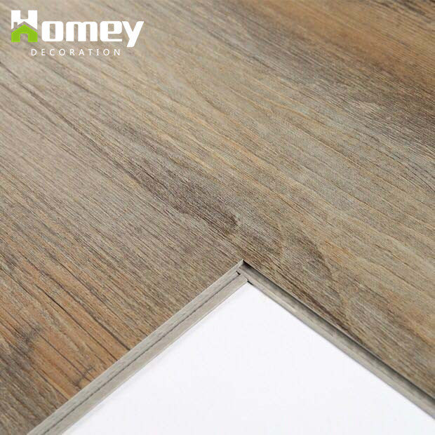 China Wood Texture Virgin Material Click Antiskid Spc Vinyl Flooring - Anti skid flooring material