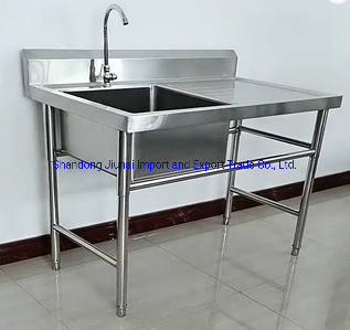 China Stainless Steel Sink With Cabinet Restaurant Industrial Kitchen Sink For Sale China Commerical Stainless Steel Sink