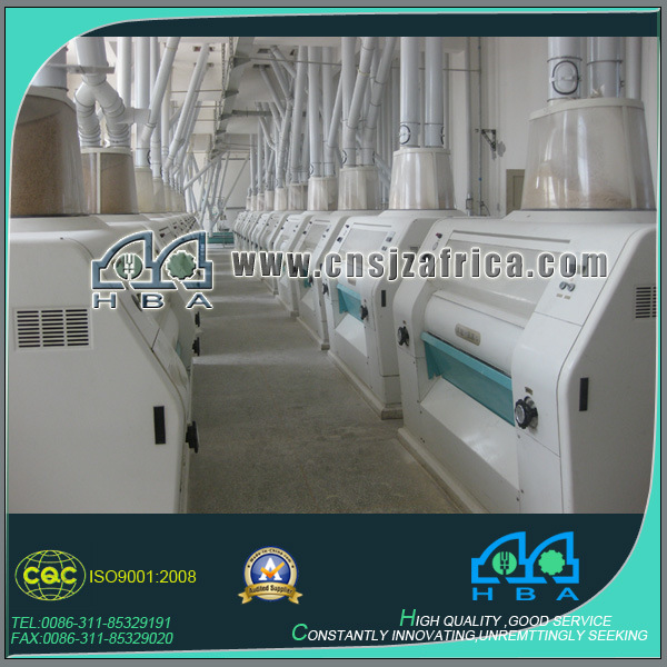Corn Rice Wheat Flour Mill Complete Production Line pictures & photos