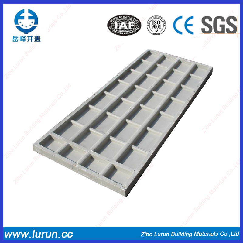 Rectangular Fiber Glass Manhole Cover with SGS
