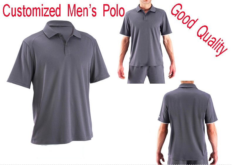 Golf T Shirt With Short Sleeves