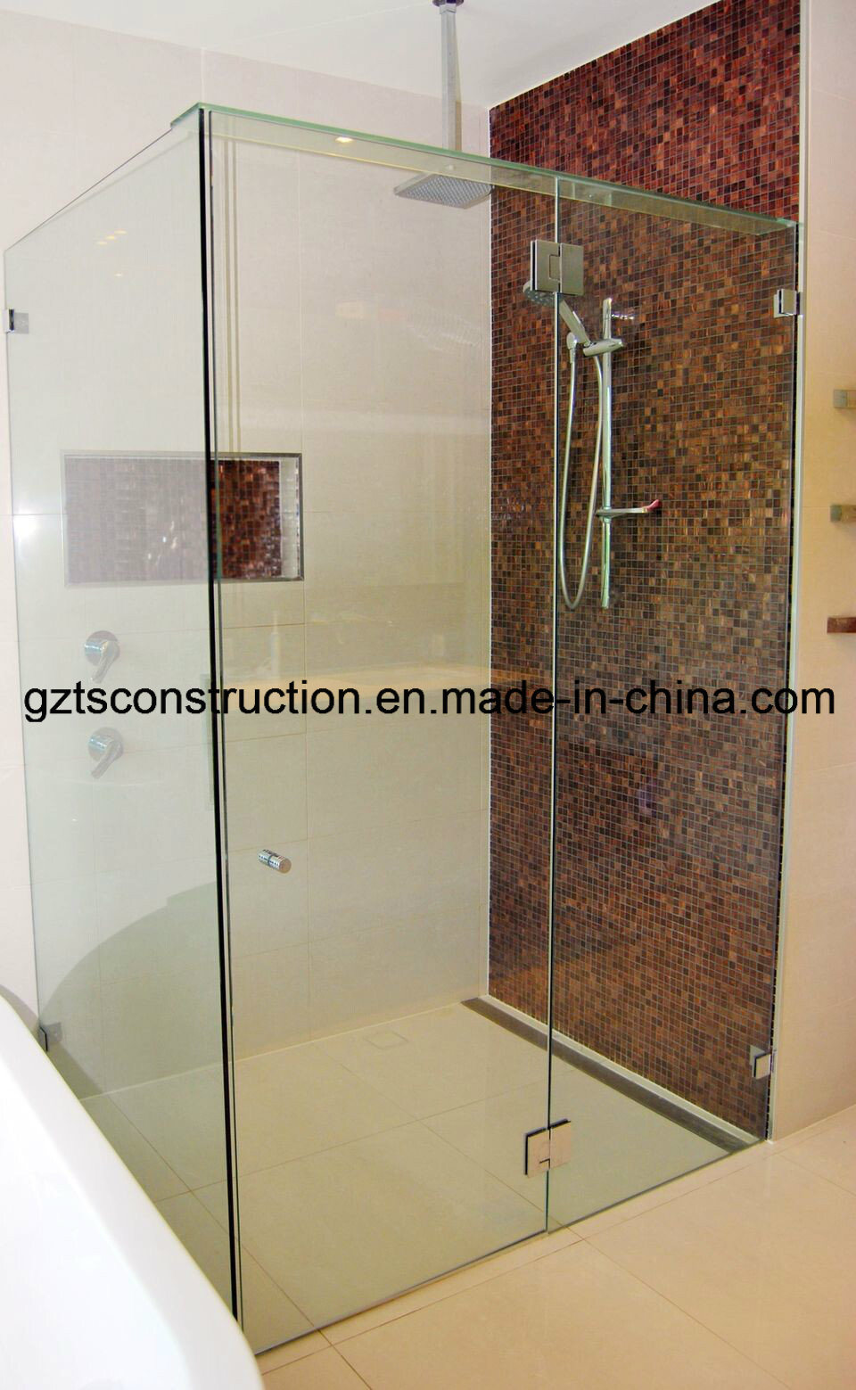 China 12mm Tempered Glass Sliding Door Photos Pictures Made In