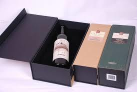Hot Item Custom Cardboard Rigid Gift Box With Magnetic Closure For Wine Packaging