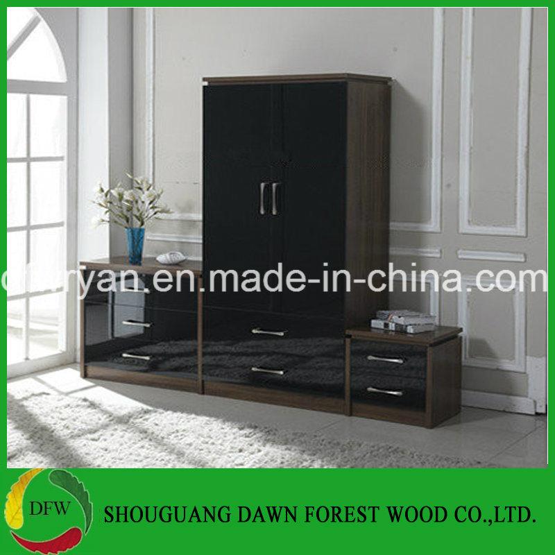 [Hot Item] High Glossy UK Best Seller Chinese Bedroom Furniture Set for Sale