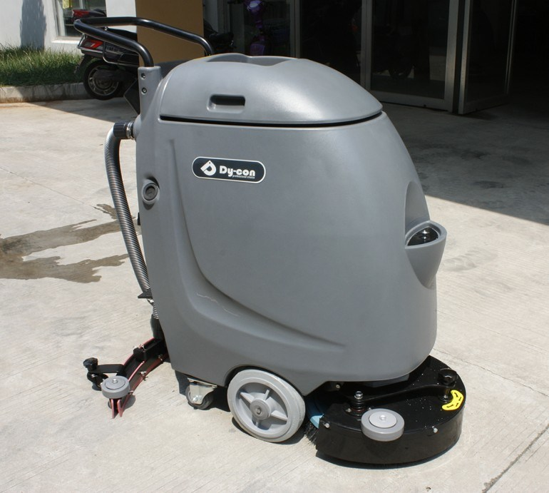 Automaic Hand Push Floor Scrubber with Small Physique
