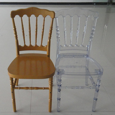 Clear Napoleon Chair for Banquet