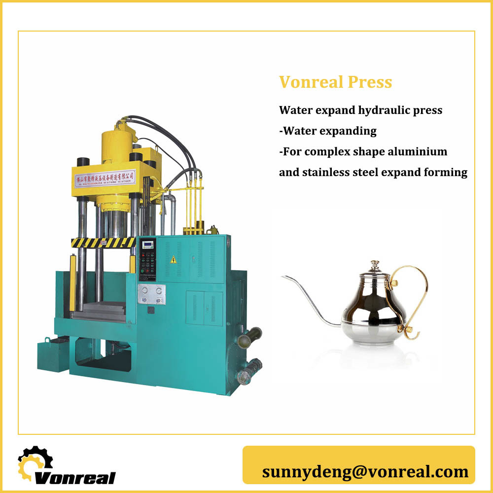 China Vonreal Water Expansion Types of Hydraulic Press Machine ...