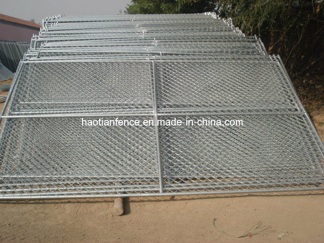 China 6ft X 12ft Temporary Chain Link Fence Panels Photos
