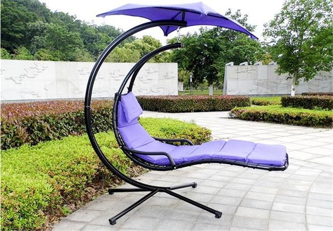 China Hanging Chaise Lounger Chair Porch Swing Hammock Chair Canopy   China  Steel Swing Chair, Hanging Lounger