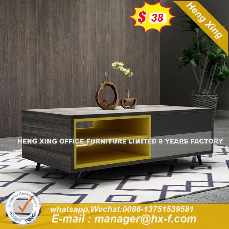 Modern Glass  Elegant Glass Exotic TV Stand (HX-8ND9460) pictures & photos