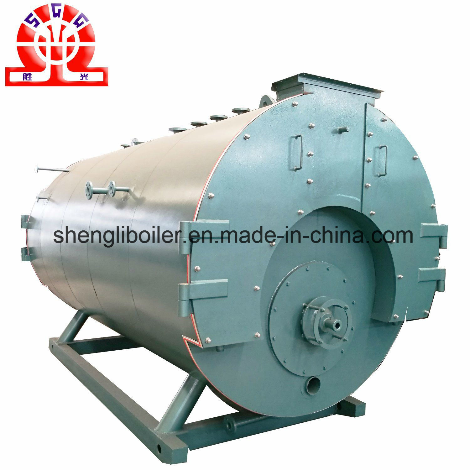 China Class a Manucturer Combi Gas Fired Boiler with Steam Header ...