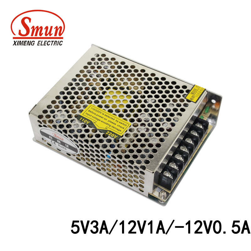 China Smun T-30b 30W 5V12V-12V Triple Output Switching Power Supply ...