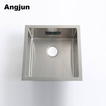 China Easy Clean Undermount Square Kitchen Sinks Stainless Steel ...