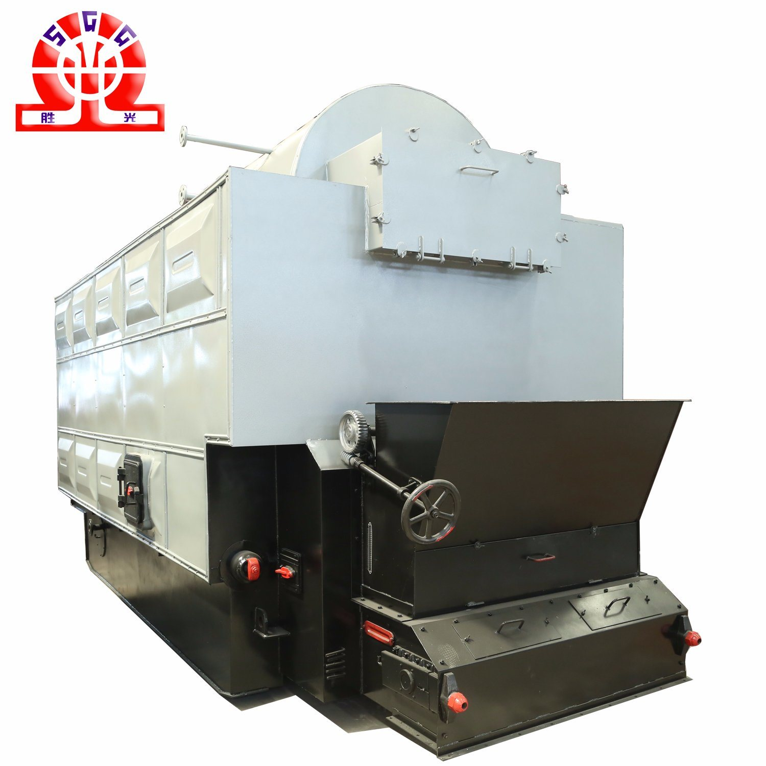 Wood Pellet Boiler >> China Fire And Water Tube Wood Pellet Boiler With Economizer China