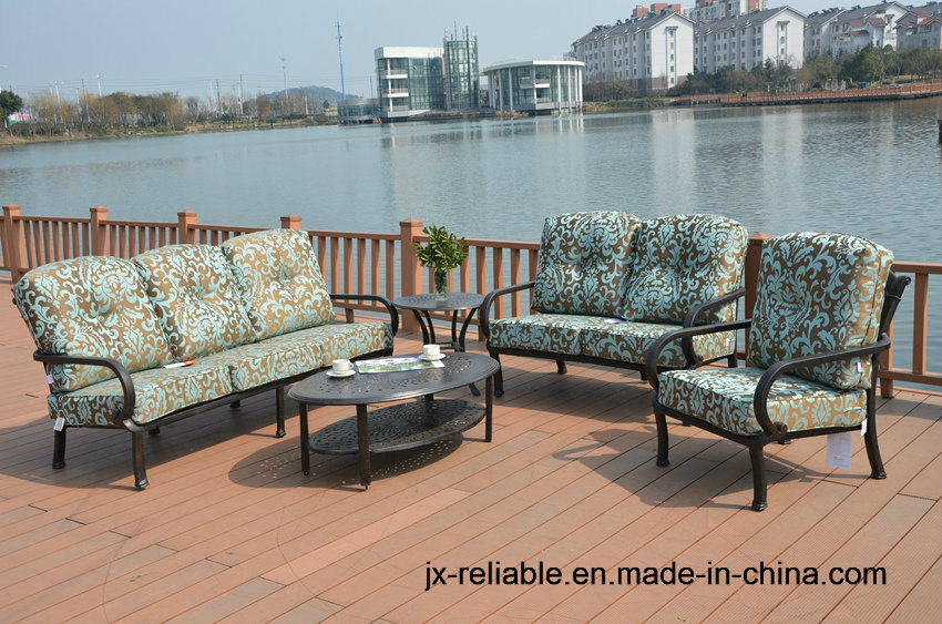 China Cast Aluminum Sofa Chat Group Garden Furniture - China Outdoor ...