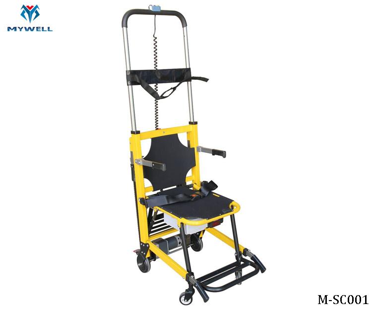 China M Esc001 Electric Wheelchair Stair Climbing Design