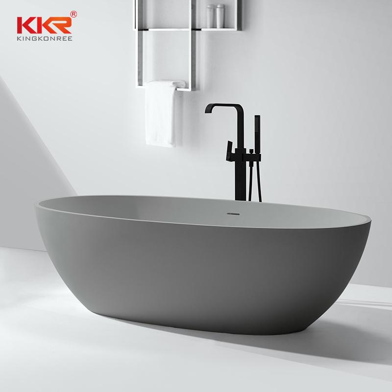 China Sanitary Ware Stone Bathroom SPA Bathtub Free Standing Bath ...