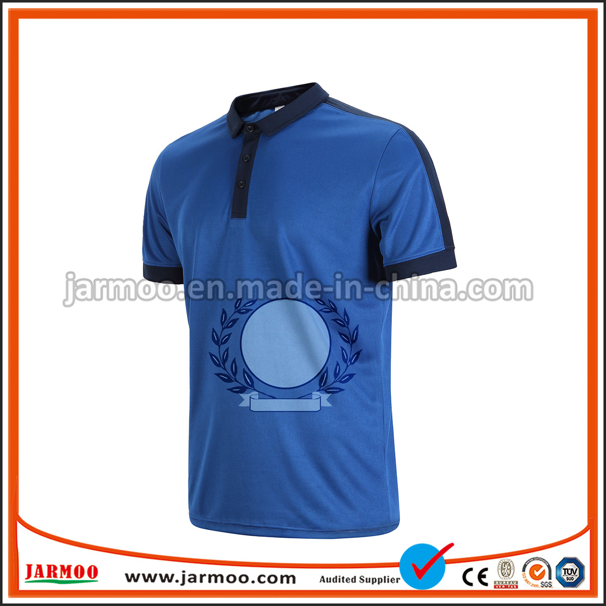 China 100 Polyester Mens Polo T Shirt With Custom Logo China Polo
