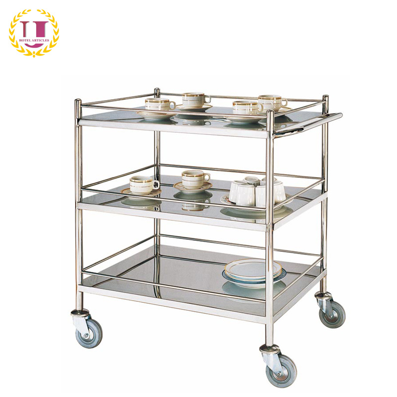 Stainless Steel Kitchen Utility Cart