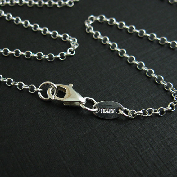 1.5mm Sterling Silver Rolo Chain