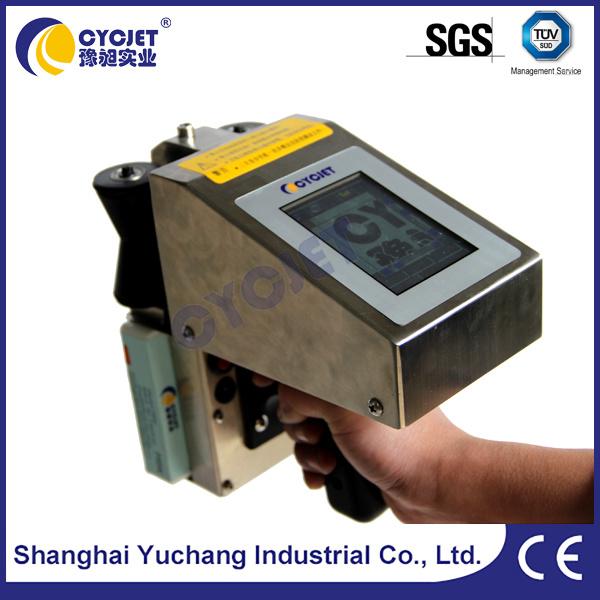 china cycjet alt382 portable inkjet printer logo printing machine