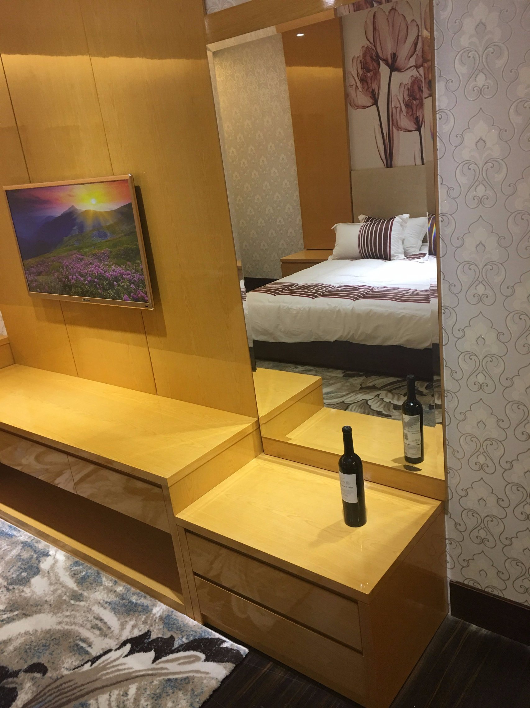 Hotel Bedroom Furniture/Luxury King Size Bedroom Furniture/Standard Hotel King Size Bedroom Suite/Kingsize Hospitality Guest Room Furniture (NCHB-00316) pictures & photos