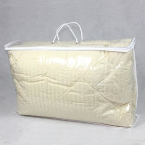 China Clear Pe Pvc Bag Transparent Plastic Packaging For