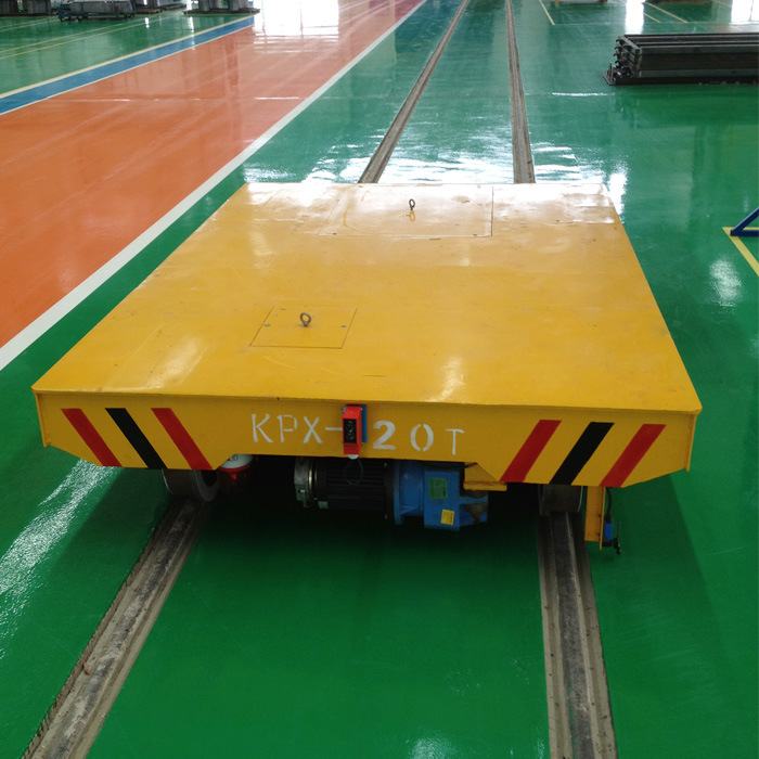 Industry Use Battery Powered Electric Transfer Trolley Applied in Furnace pictures & photos