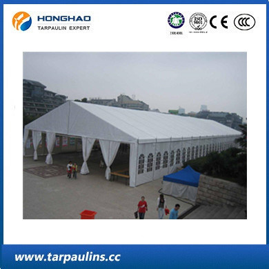 UV-Resistant Exhibition Tent PVC High Strength Tarp/Tarpaulin