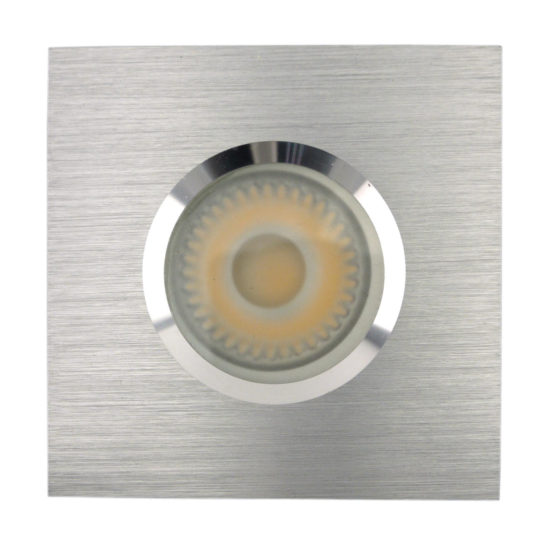 China lathe aluminum gu10 mr16 square fixed recessed led bathroom downlight lt2901 china spotlight downlight