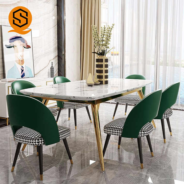 China Luxury High End Solid Surface Home Furniture Dining