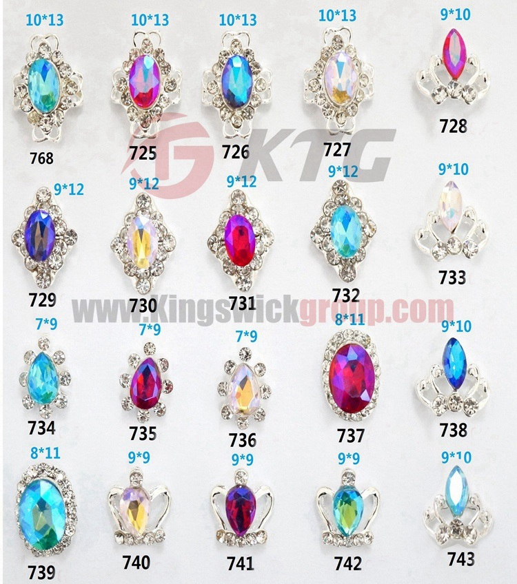 China Fashion 3D Nail Art Zircon Stone Wholesale Rhinestone Zircon ...