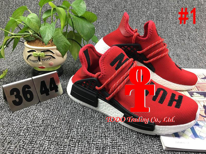 Ensure 100% Original Nmd Human Race, Yellow Human Race Nmd Real Boost Running Shoes, Nmd for Man Women, Size 36-48, Sports Shoes, Run Boots