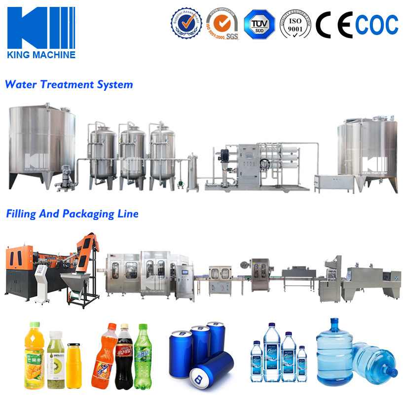 [Hot Item] Alkaline Water / Mineral Water Production Line