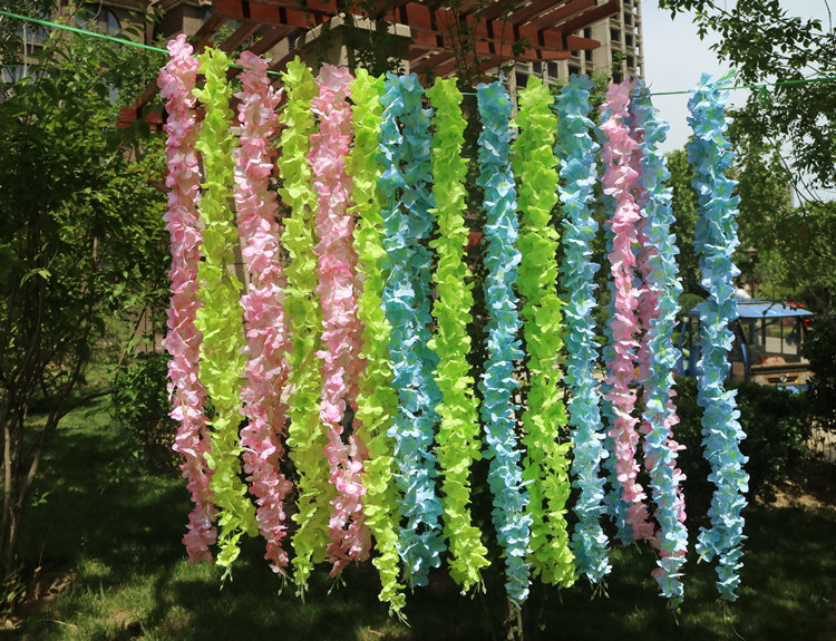 Wall Hanging Garden Outdoor Privacy Screen Decorative Fence Artificial Vines